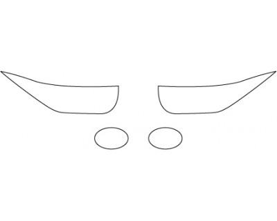 2017 BMW I3 RANGE EXTENDER  Headlight Fog Light