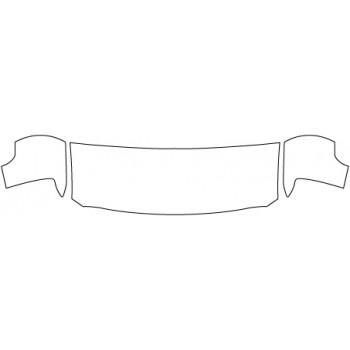 2019 CHEVROLET SILVERADO 2500HD Hood Fenders (24 Inch)