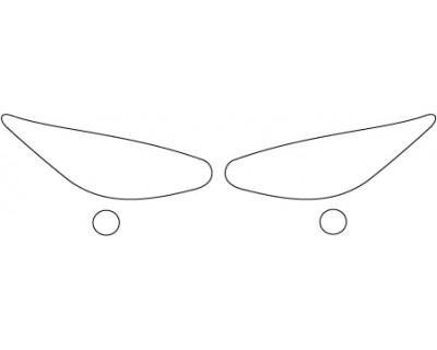 2014 INFINITI QX60 BASE  Headlights Fog Lights