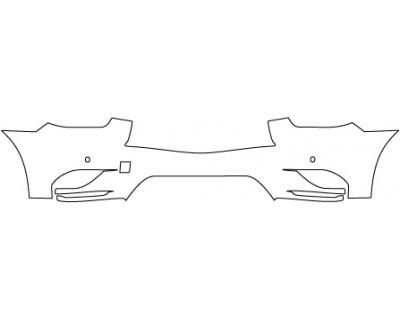 2014 INFINITI QX60 BASE  Lower Bumper(with Sensors)