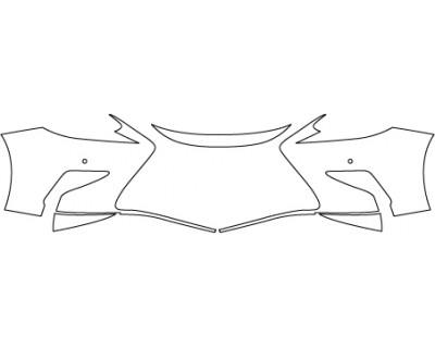 2017 LEXUS ES 300H  Bumper