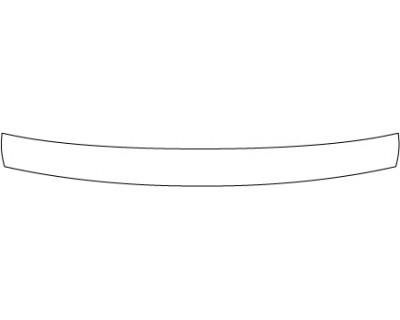 2014 MASERATI GRAN TURISMO MC STRADALE  Rear Bumper Deck