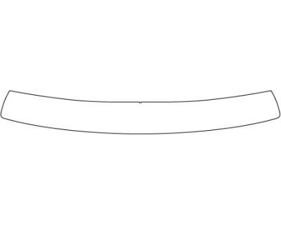 2016 SCION IA SV  Rear Bumper Deck