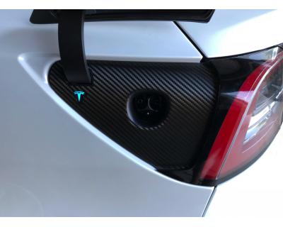 Charge Port Carbon Fiber 3M Film